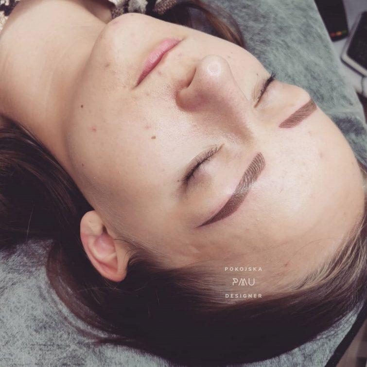 Permanentny makijaż Brwi